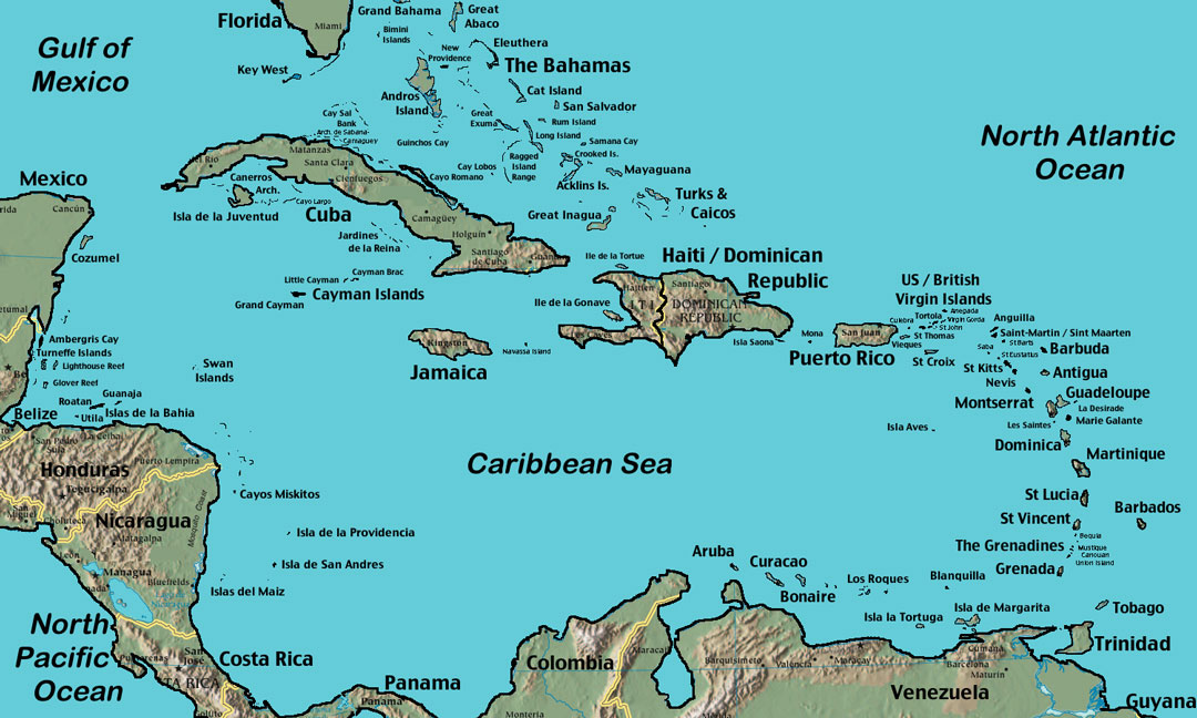 the continent including location of haiti with Map Caribbean on Posts besides Travel Maps Of The World also Map Of North And South America likewise Map 16 Carte Du Monde Noms Originaux Des Pays additionally Americas.